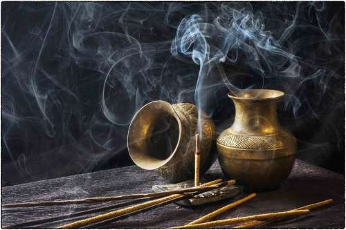 Incense Indian Aromatic Stick Smoke Aroma