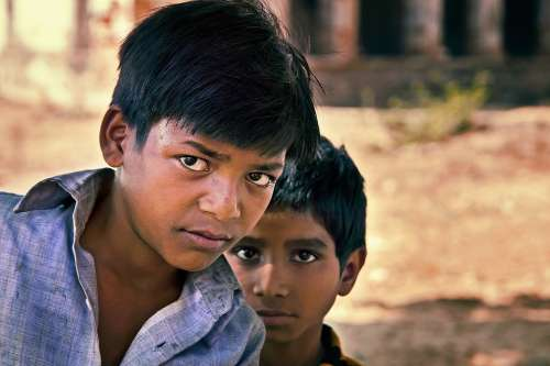 Indian Boys Team Child Male Asian Ethnic Culture