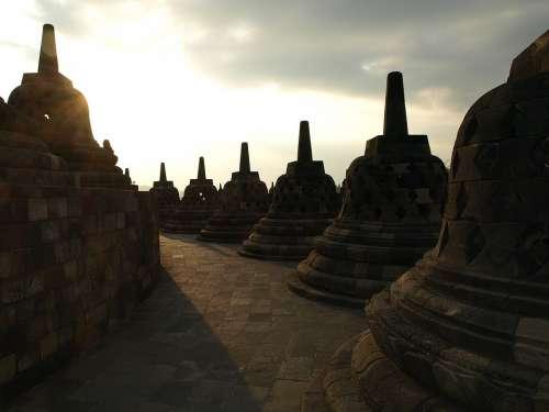 Indonesia Borobudur Temple Asia