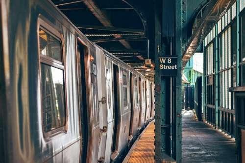 Indoors Metro Platform Public Transport Railway