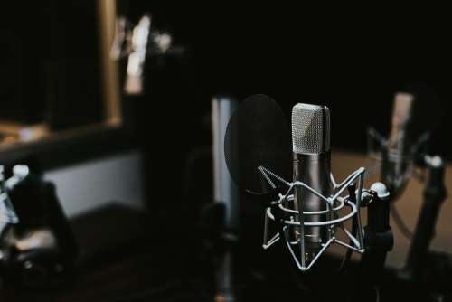 Indoors Macro Mic Microphone Sound Sound Recording
