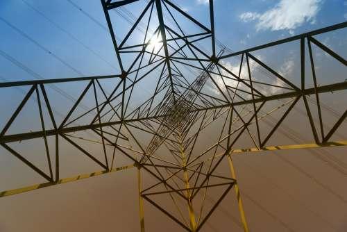 Industry Strommast Power Line Pylon Technology