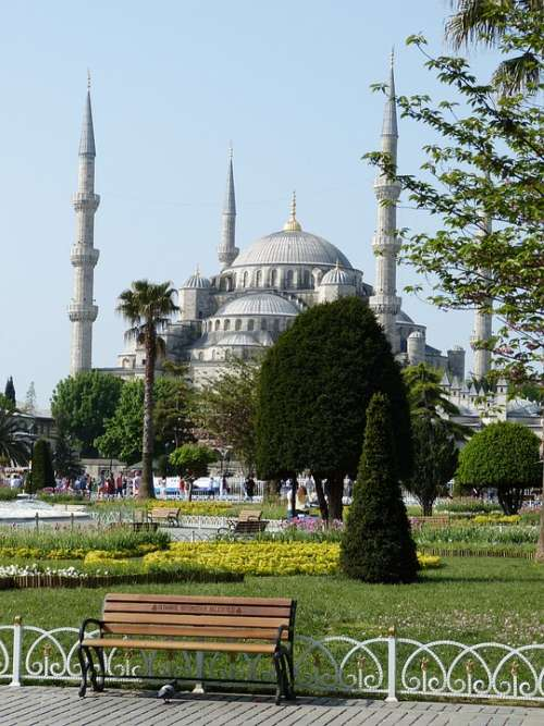 Istanbul Turkey Architecture Mosque Islam Religion