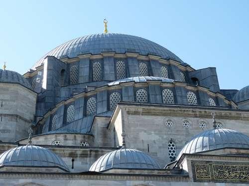 Istanbul Turkey Architecture Mosque Islam Religion