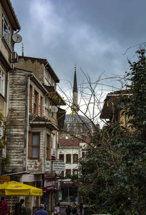 Istanbul Cami Islam Turkey Religion Travel Dome