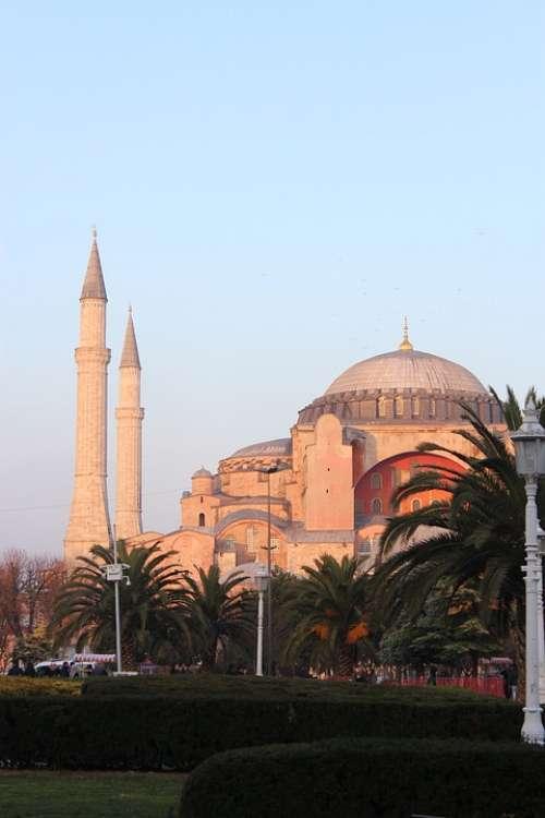 Istanbul Saintsophie Ayasofia Turkey Mosque