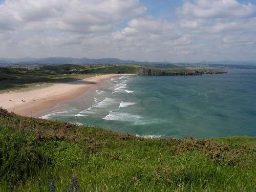It Xagó Bay Of Biscay Beach Coastal Landscape