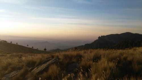 Iztaccíhuatl Landscape Volcano Mountain Nature