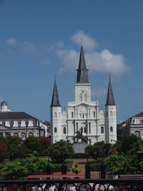 Jackson Square Louisiana Orleans New Orleans French