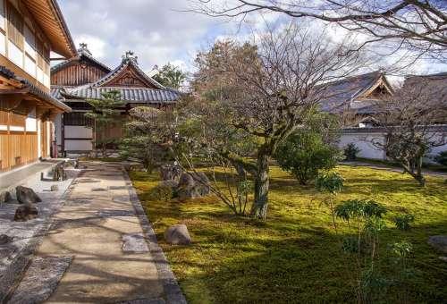 Japan Garden Traditional House Zen