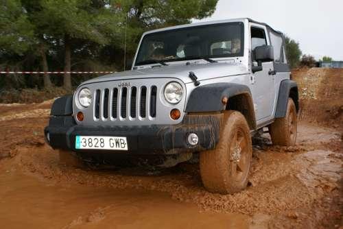 Jeep Puddle Mud Auto Terrain