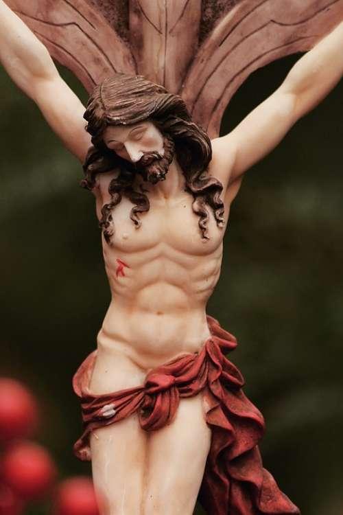 Jesus Cross God Faith Believe Cemetery Nature