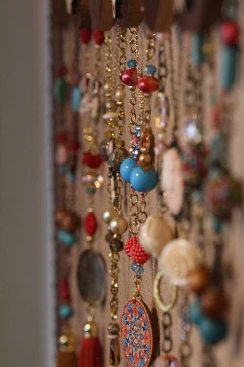 Jewelry Boutique Colorful Fashion Macro Color