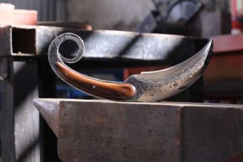 Karambit Knife Knives Bladesmith Forge Brut Forge