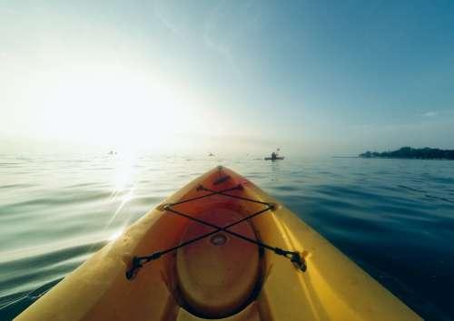 Kayak Adventure Discover Water Row Boat Explore