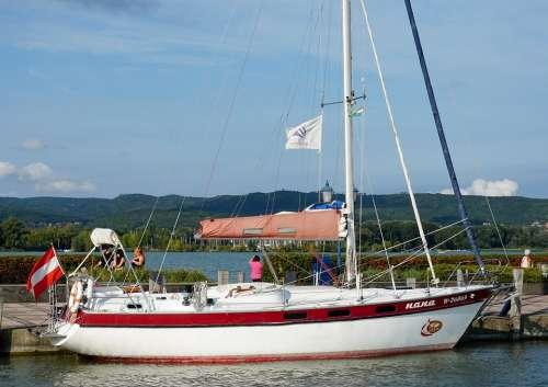 Keszthely Lake Balaton Zala Ship Sailing Lake
