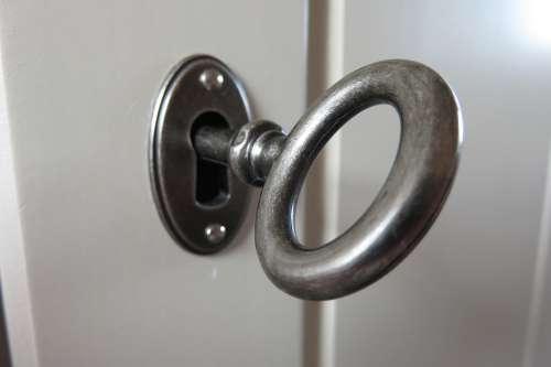 Key Door Metal Close Deco Security Closed Lock