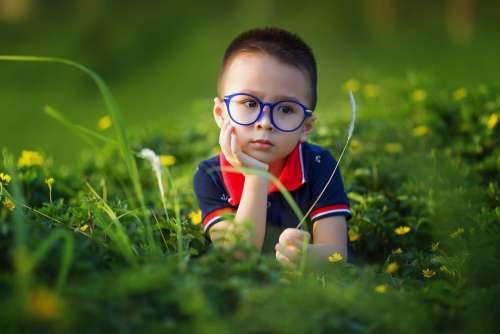Kids Boy Glasses Spectacles Cute Outdoors Child