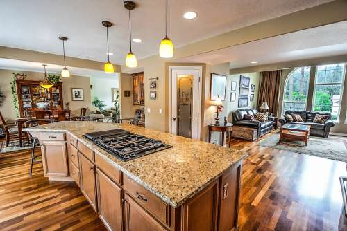 Kitchen Home Real Estate Living Room Residential
