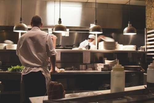 Kitchen Work Restaurant Cook Chef Professional
