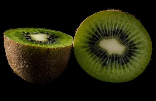 Kiwi Fruit Green Fresh Nature Vitamins Eating