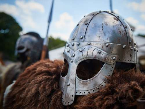 Knight Armor Middle Ages Protection Helm Metal