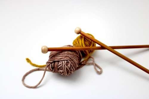 Knitting Knit Knitting Needles Yarn Craft Winter