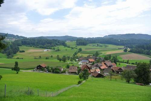 Knonaueramt Säuliamt Hiking Switzerland