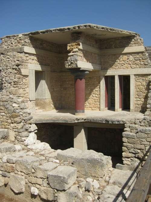 Knossos Crete Vacations More Excavation Ruin