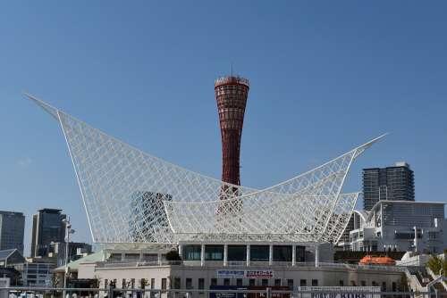 Kobe Port Tower Japan Kobe Port
