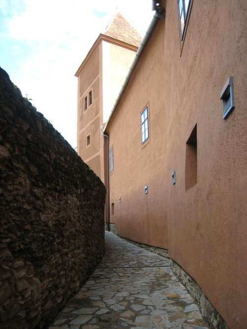 Koszeg Castle Walls