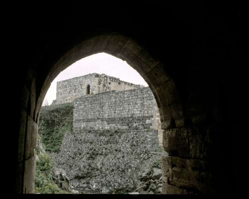 Krak Chevalier Castle Syria Crusaders Middle Ages