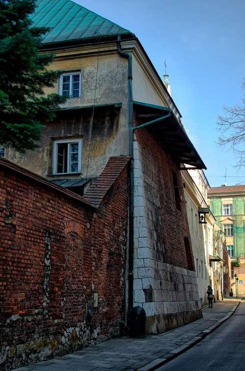 Kraków Lake Dusia Street City The Old Town House