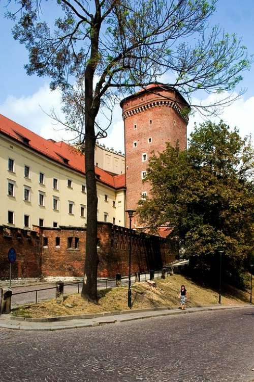 Krakow Wawel Castle Poland