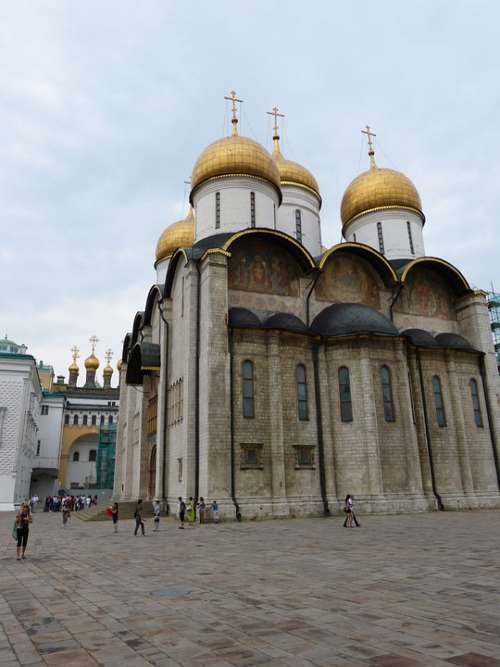 Kremlin Moscow Russia Capital Historically