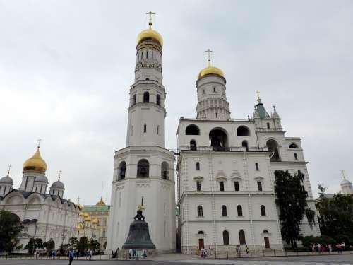 Kremlin Russia Capital Moscow Historically