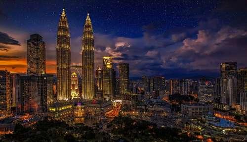 Kuala Lumpur Twins Malaysia Petronas Twin Towers