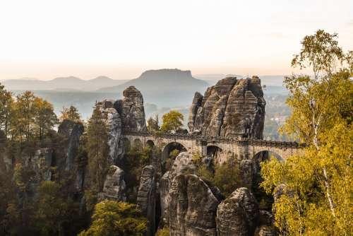 Kurort Rathen Germany Bridge