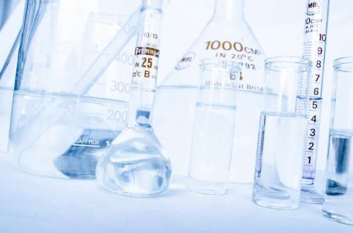Lab Research Chemistry Test Experiment Many