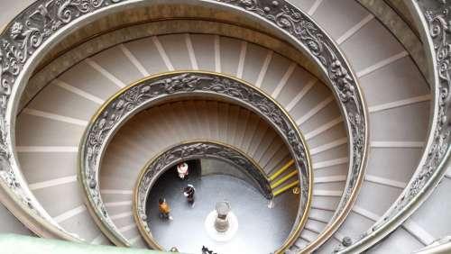 Ladder Spiral Vatican Rome Snail