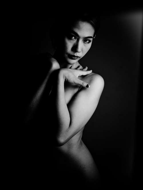 Lady Woman Naked Nude Skin Sexy Body Eyes Pose
