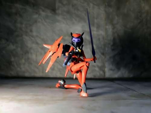 Lady Female Toy Action Figure Kotobukiya Model