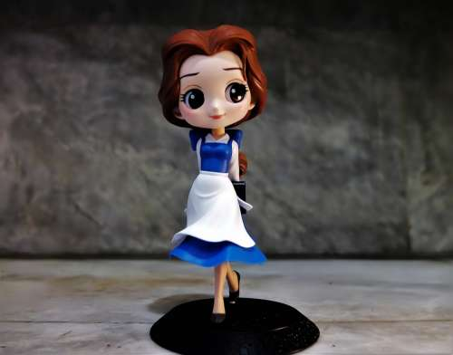 Lady Female Girl Young Toy Figurine Disney Film