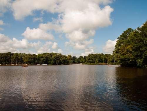 Lake State Park Landscape Sky Park Water Nature