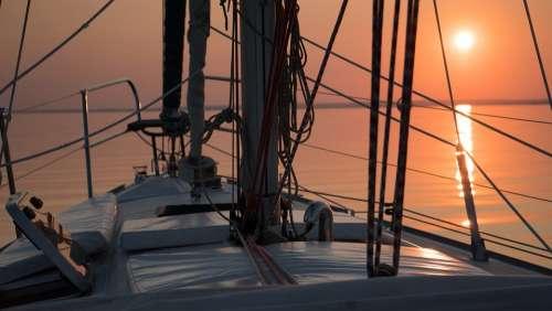 Lake Balaton Sailing Water Ship Yacht Shipping