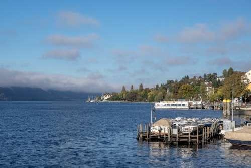 Lake Constance Überlingen Web Investors Port Tree