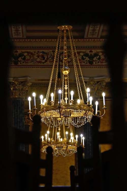 Lamp Chandelier Light Decoration Lighting Deco