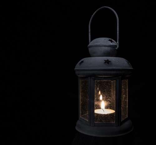Lamp Light Tea Light Lantern Antique