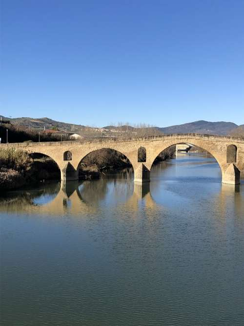 Landscape Bridge Arq Architecture River Historical
