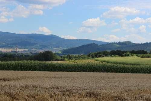 Landscape Field Heaven Nature Clouds Agriculture